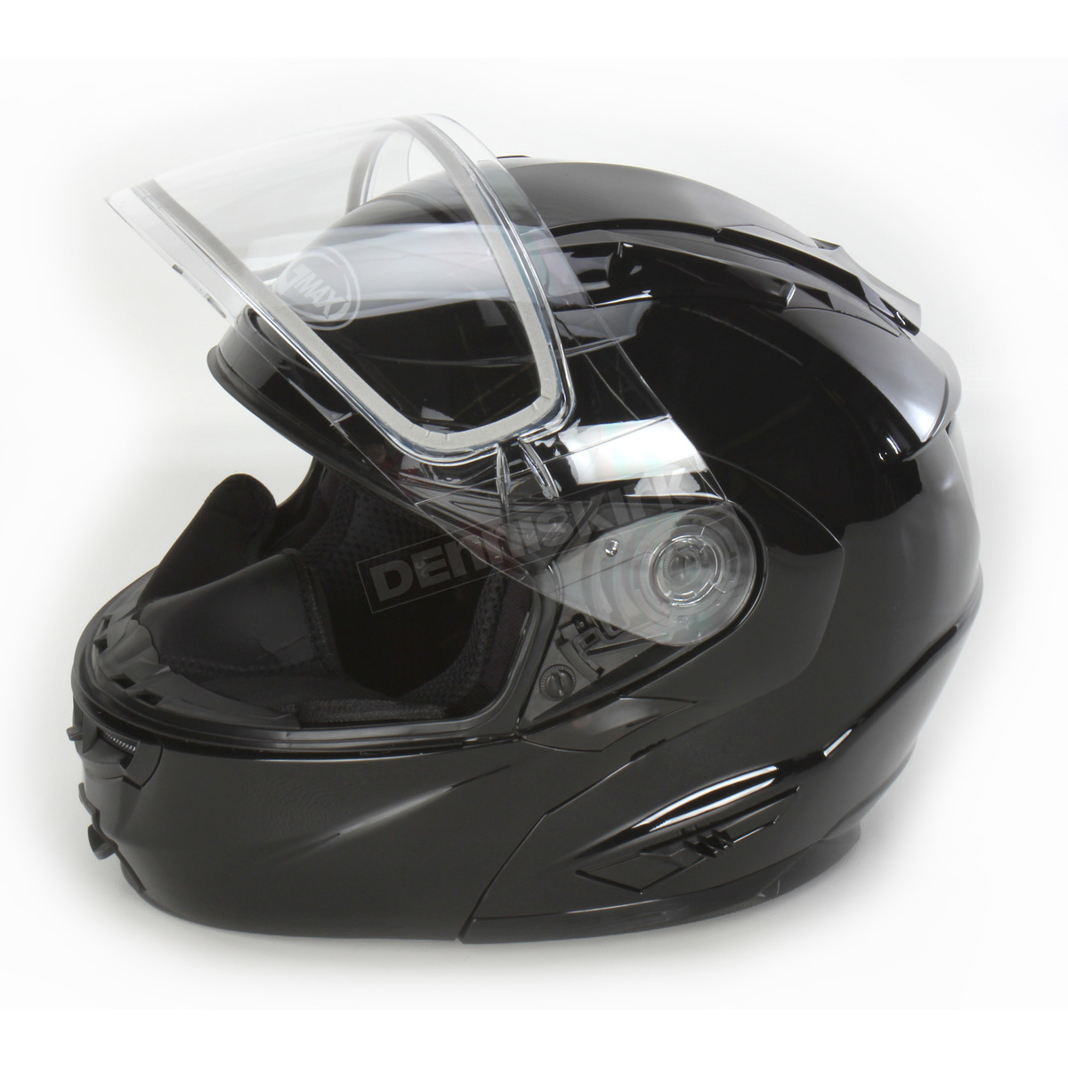 57c9e609 ... Black GM64S Modular Snowmobile Helmet with Dual Lens Shield - 72-6260XS  ...