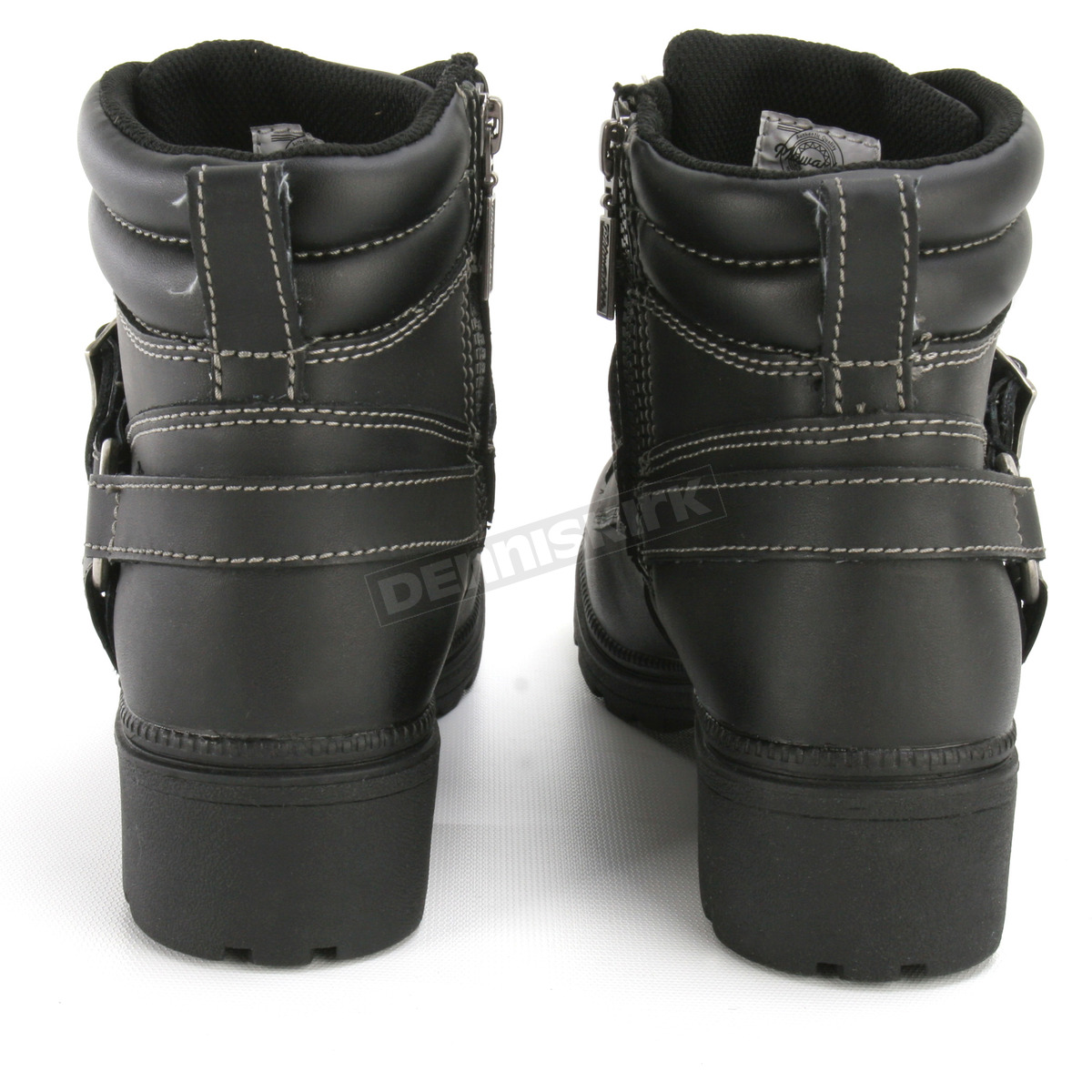 Milwaukee Motorcycle Clothing Company Womens Paragon Boots MB22815 Black, Size 7.5