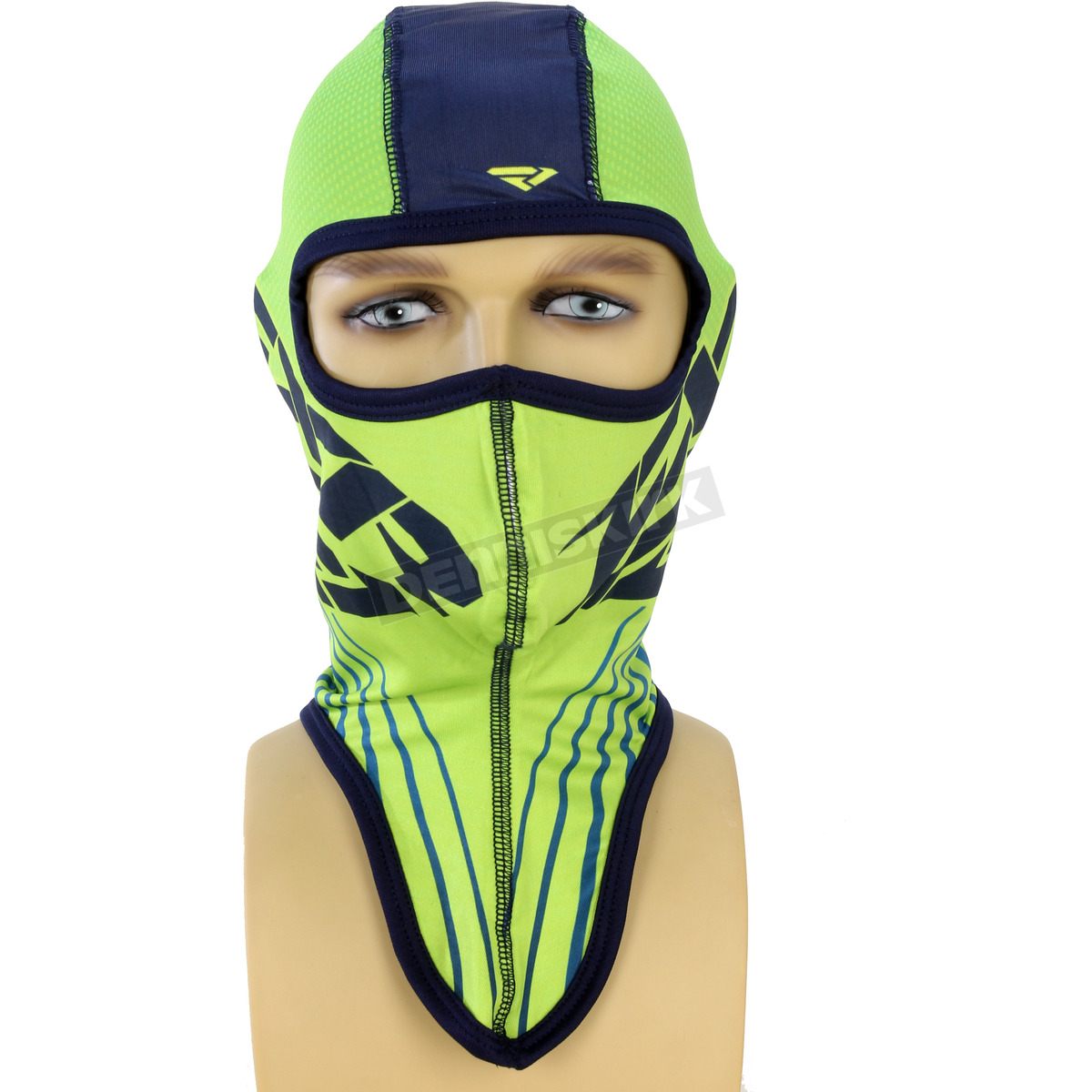 Harley Fxr Turbo: FXR Racing Hi Vis/Navy Turbo Balaclava