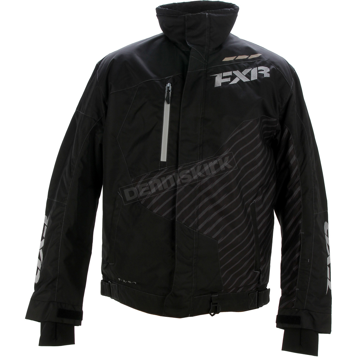 Harley Fxr Turbo: FXR Racing Black Turbo Jacket