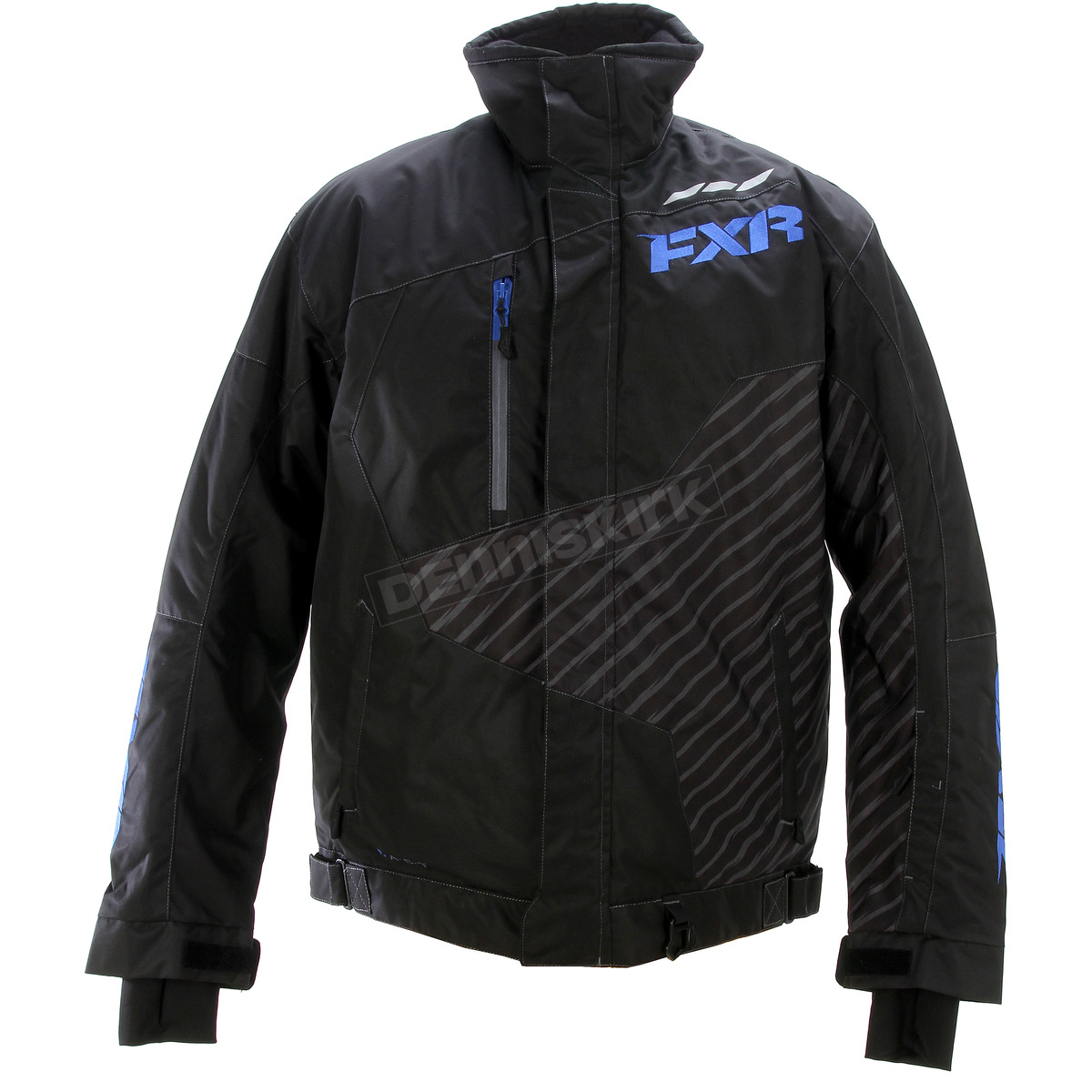 Harley Fxr Turbo: FXR Racing Black/Blue Turbo Jacket