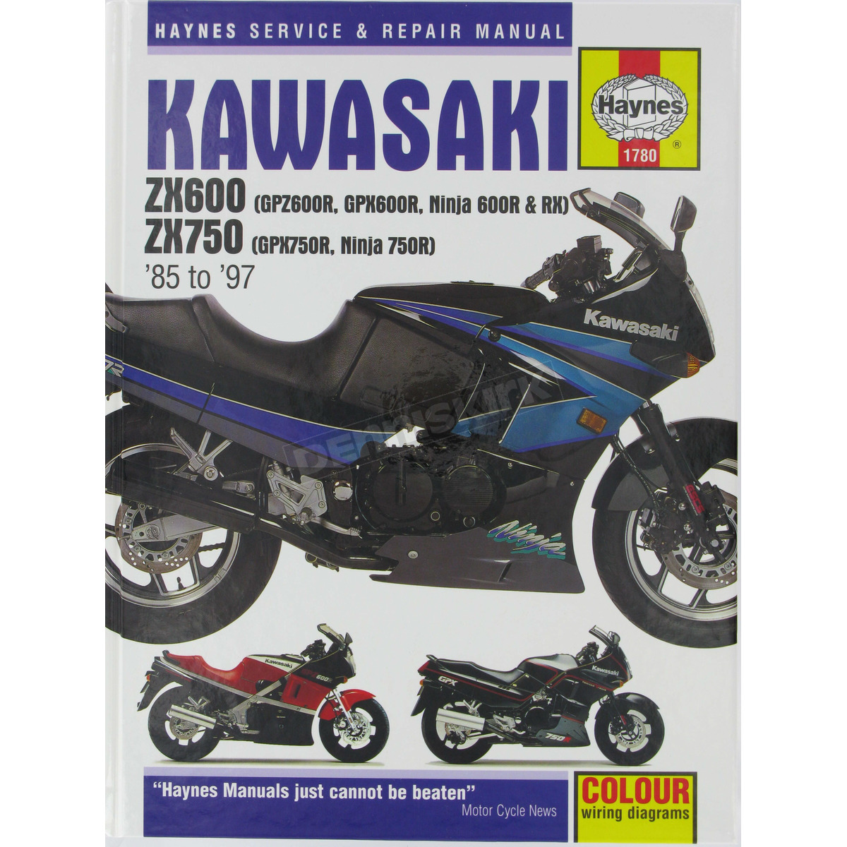 Haynes Kawasaki ZX600/ZX750 Repair Manual - 1780