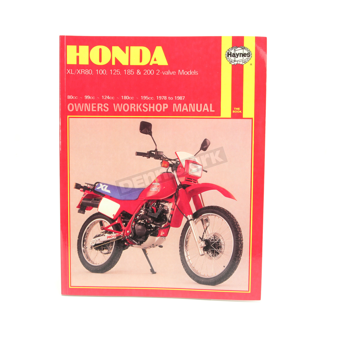 Haynes Honda Repair Manual - 566