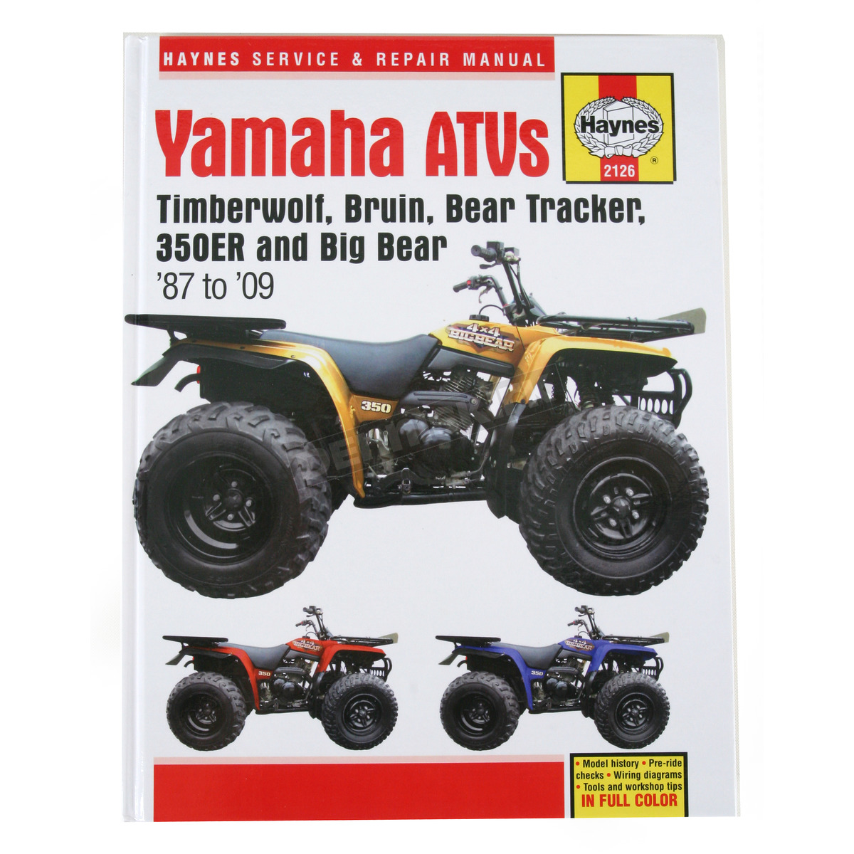 Haynes Yamaha Repair Manual - 2126