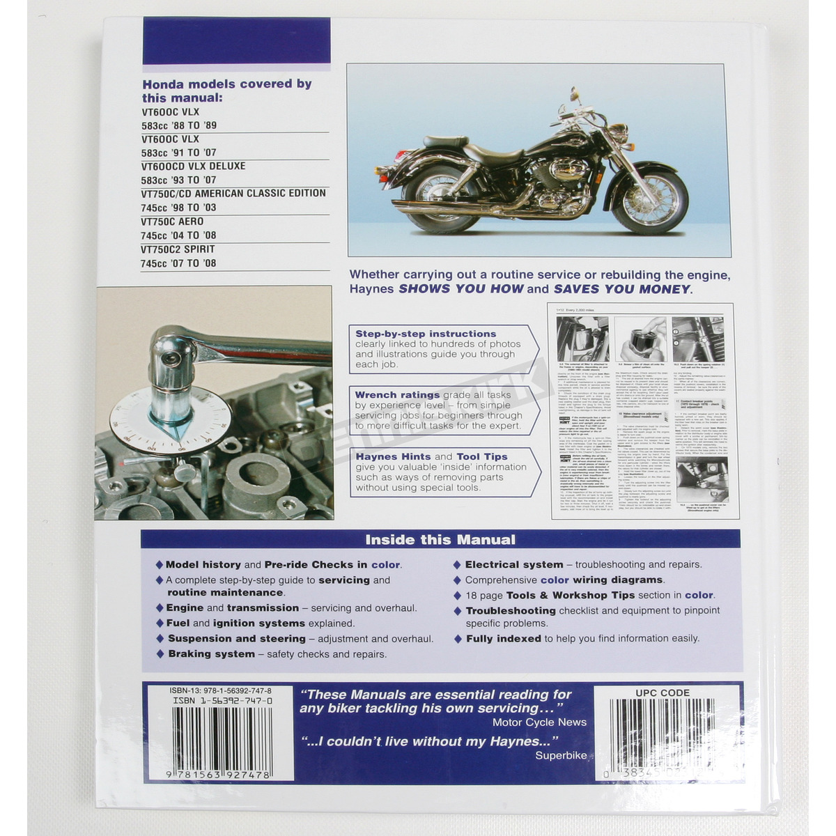 ... Honda Shadow Repair Manual - 2312
