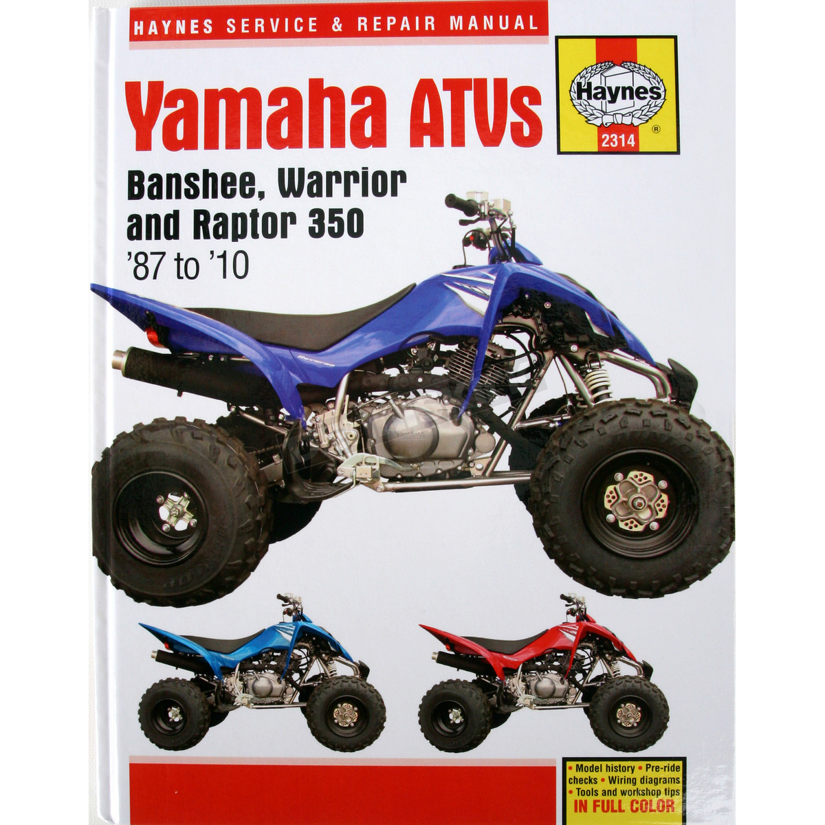 Haynes Yamaha Repair Manual - 2314