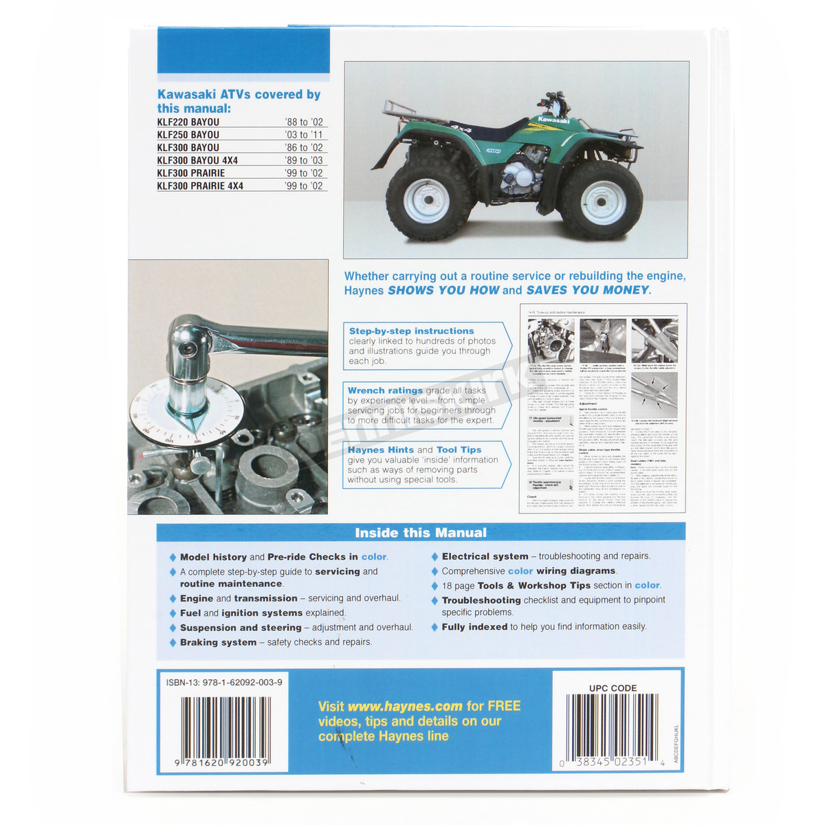 ... Kawasaki Repair Manual - 2351