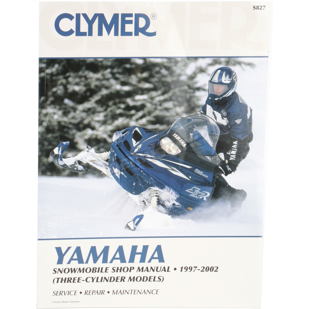 Clymer Snowmobile Service Manual - S827