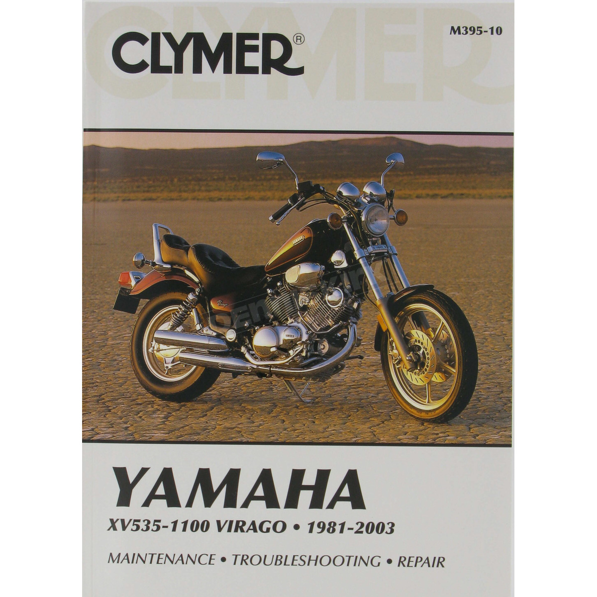 Clymer Yamaha Repair Manual - M395-10