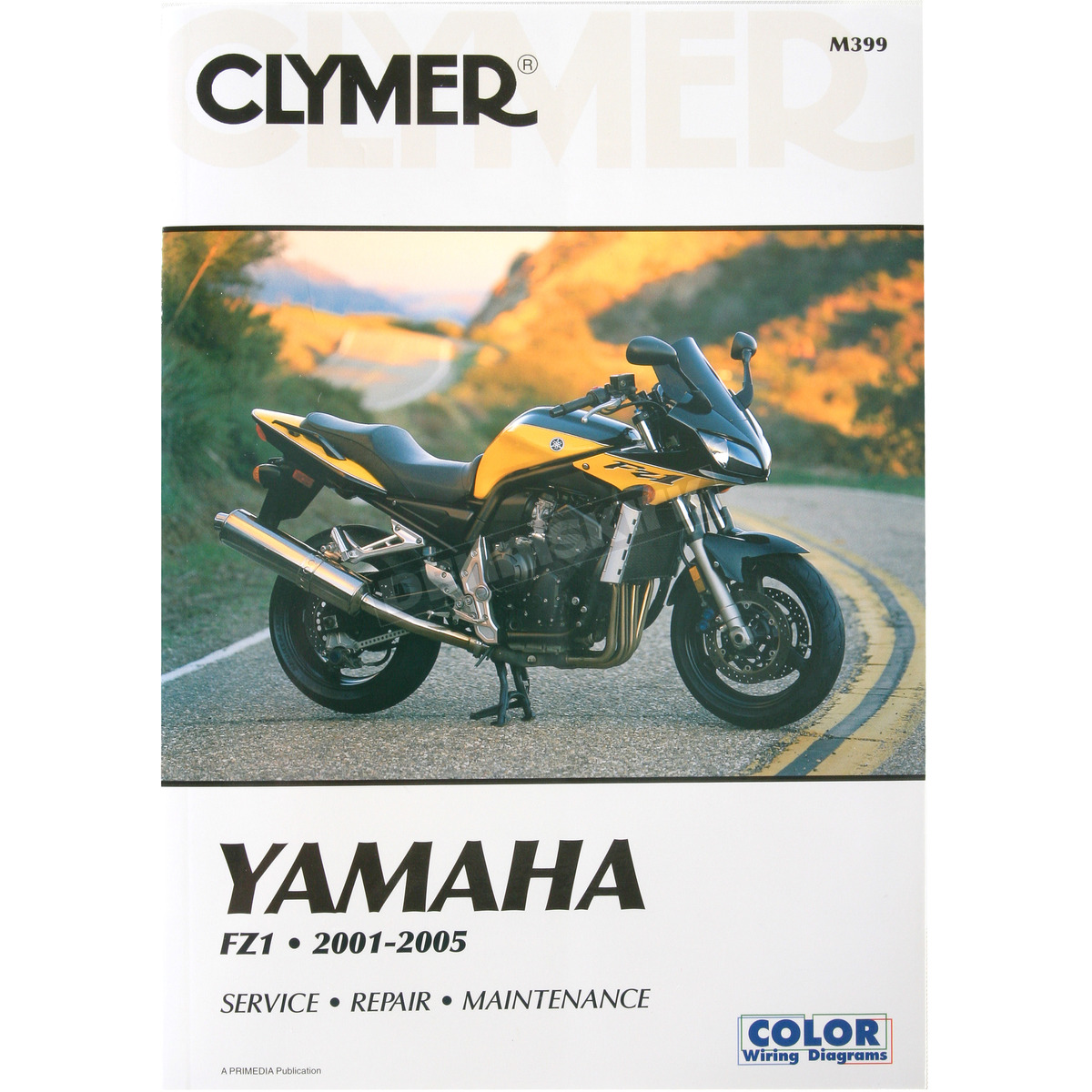 clymer yamaha fz1 repair manual - m399