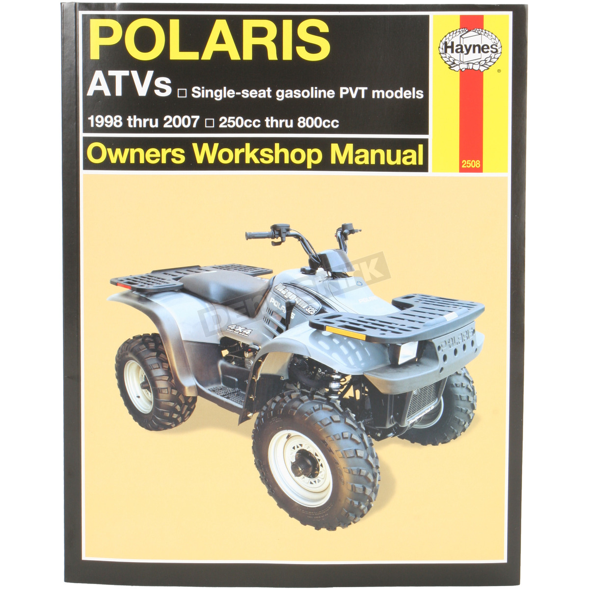 haynes polaris repair manual 2508 dennis kirk rh denniskirk com 2001 Polaris Sportsman 700 2001 Polaris Sportsman 700
