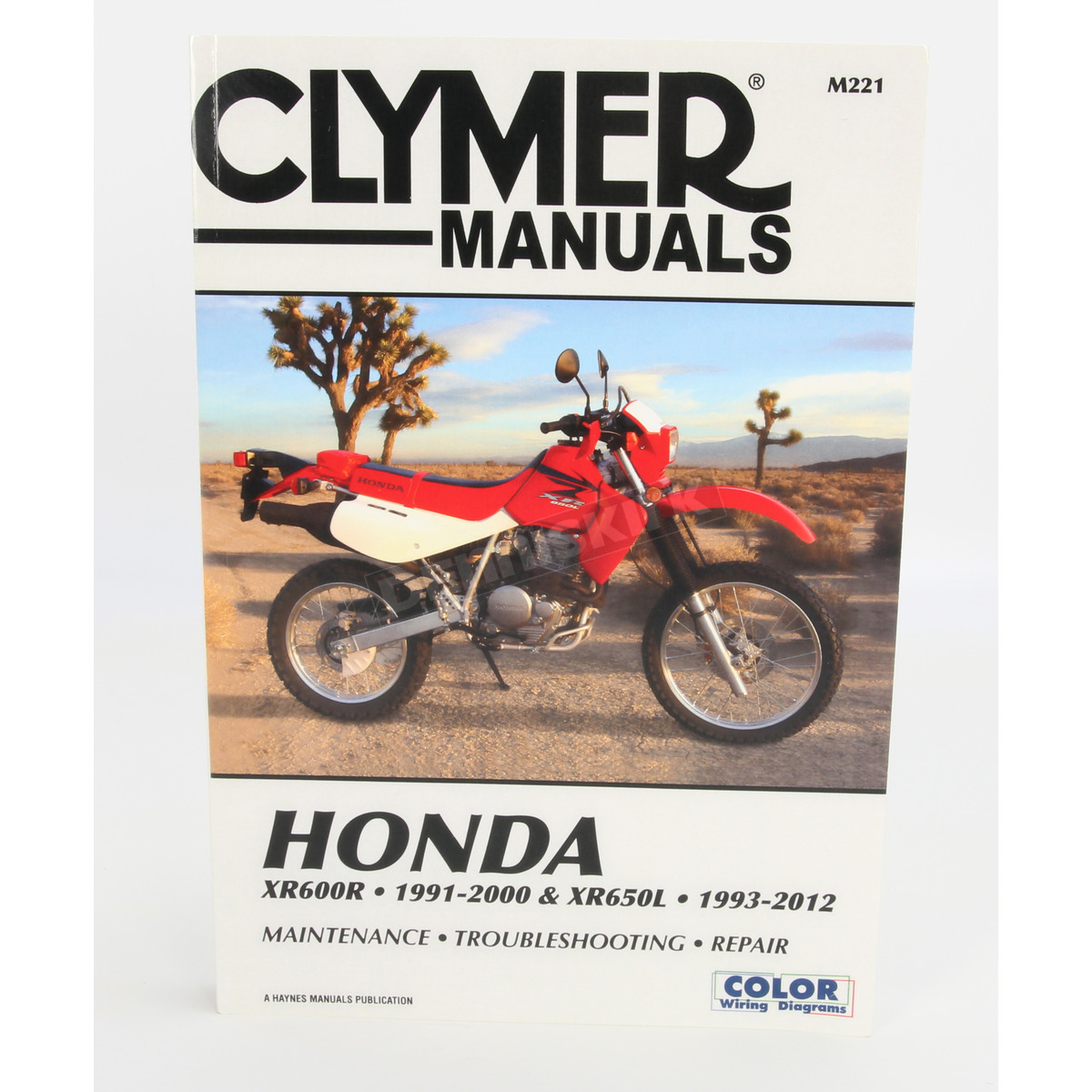Clymer Honda Repair Manual M221 Dirt Bike Motorcycle Dennis Kirk Xr650l Wiring Diagram 2005