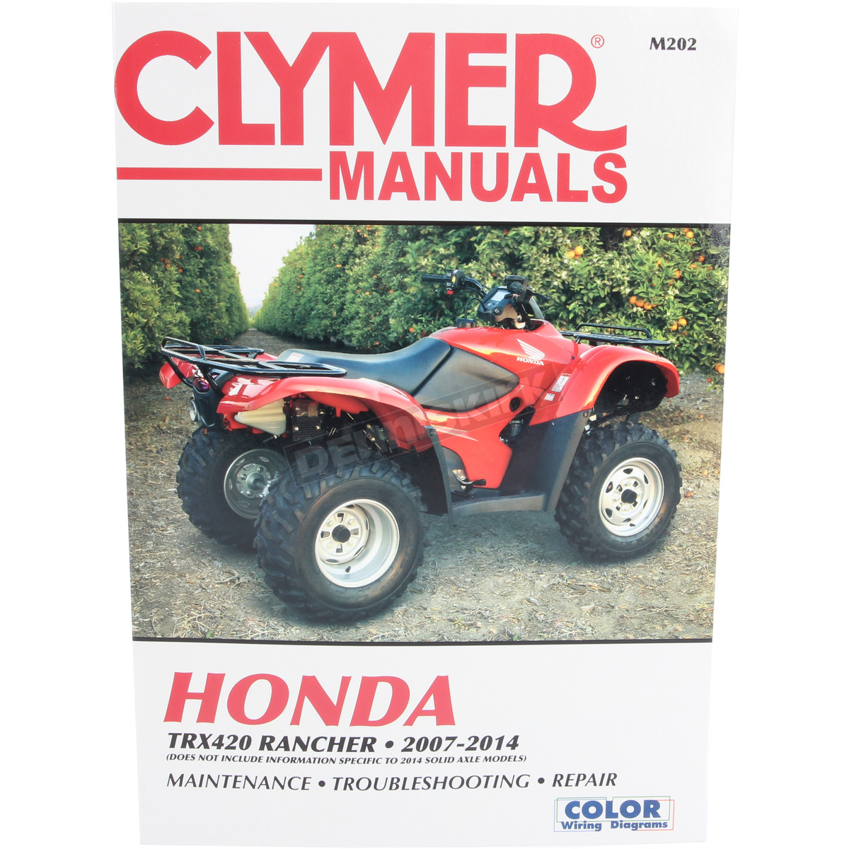 Trx420fpe Manual Diagram Of Honda Motorcycle Parts 2001 Vf750c A Alternator Array Clymer M202 Dennis Kirk Rh Denniskirk Com