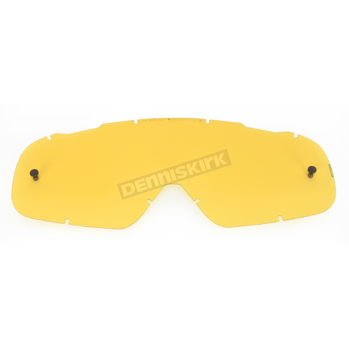 Yellow Single Lexan Anti-Fog Replacement Lens for Air Space Goggles -  08056-906-OS