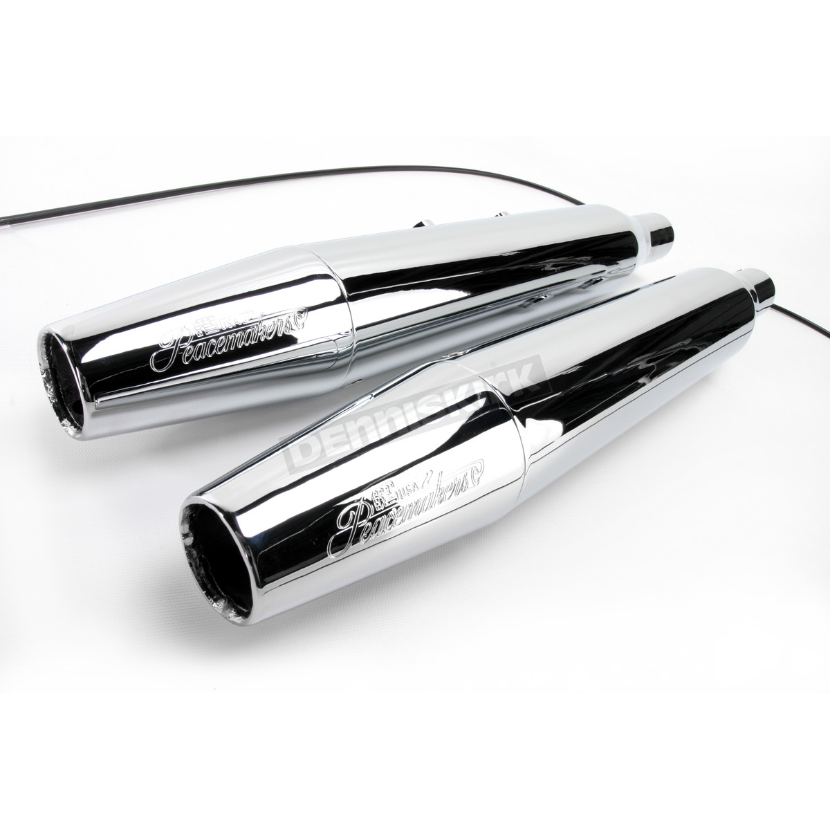 Chrome Peacemaker Exhaust System - N41413