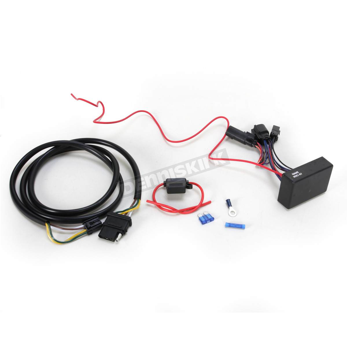 Motorcycle Trailer Wiring Kit Free Diagram For You Lights Adapters At Parts Superstore Khrome Werks Plug N Play 720752 Guide Honda