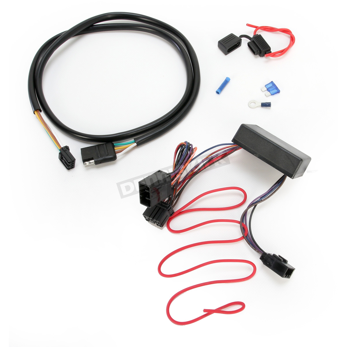 plug and play trailer wiring connector kit w 4 wire harness and isolator 720760 Dodge Trailer Wiring Harness