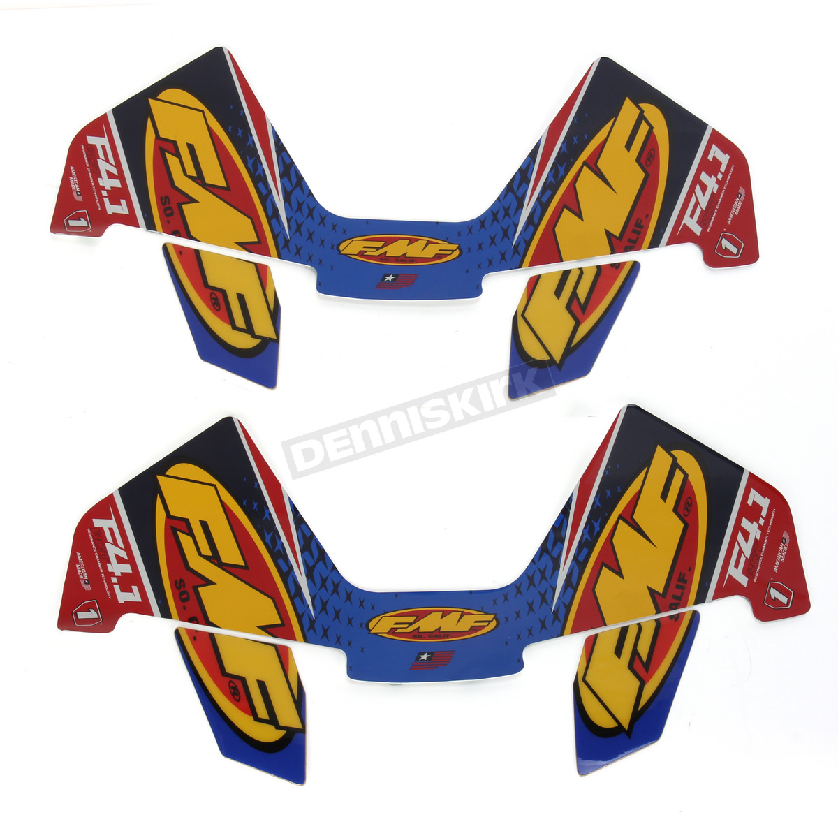 Factory 4 1 Replacement Decals For Honda CRF - 014817