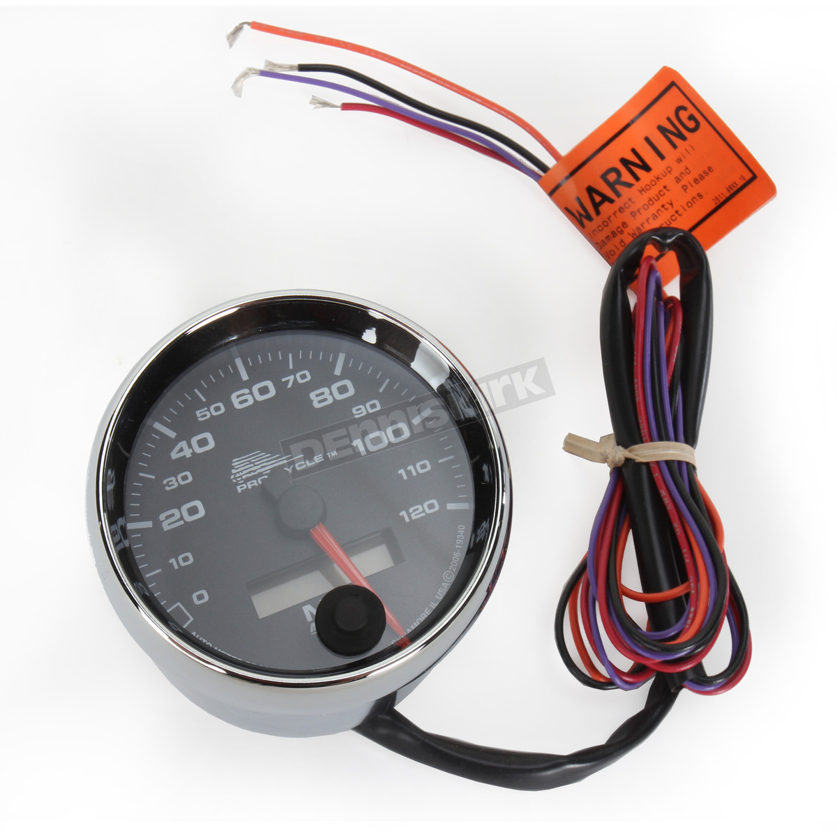 Electronic Speedometer - 19340; Black Face 2 5/8 in. Electronic Speedometer  - ...