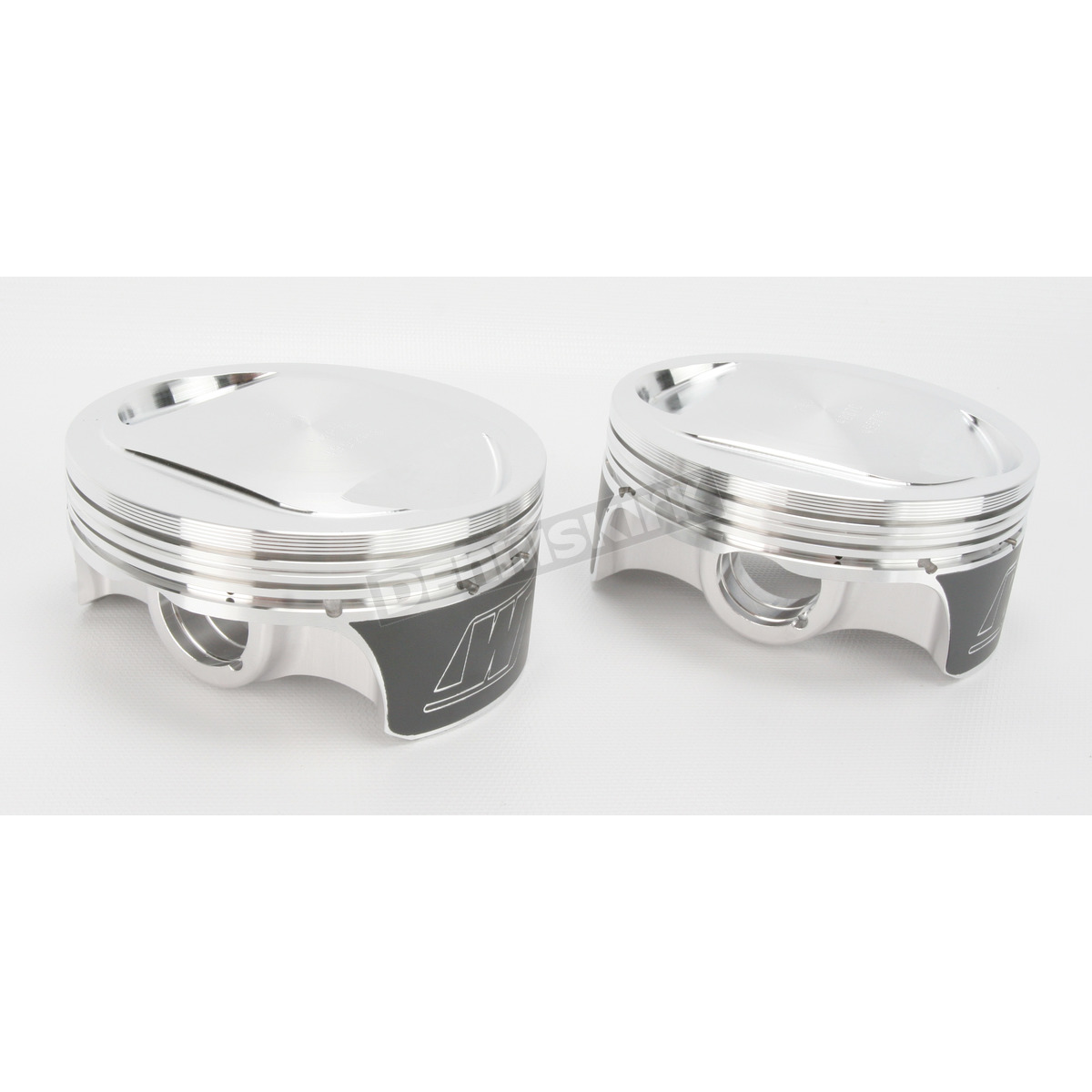 Wiseco K1615 3.517 Bore 7:1 Compression Ratio Domed Forged Piston Kit