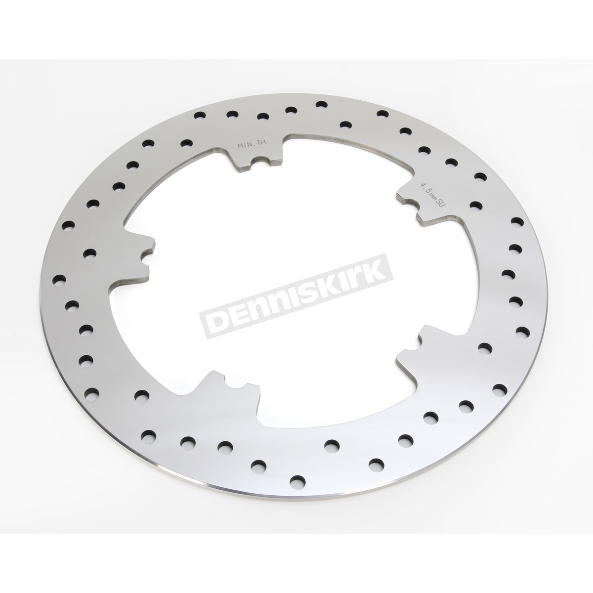 Stainless Brake Rotors : Drag specialties front in polished stainless steel