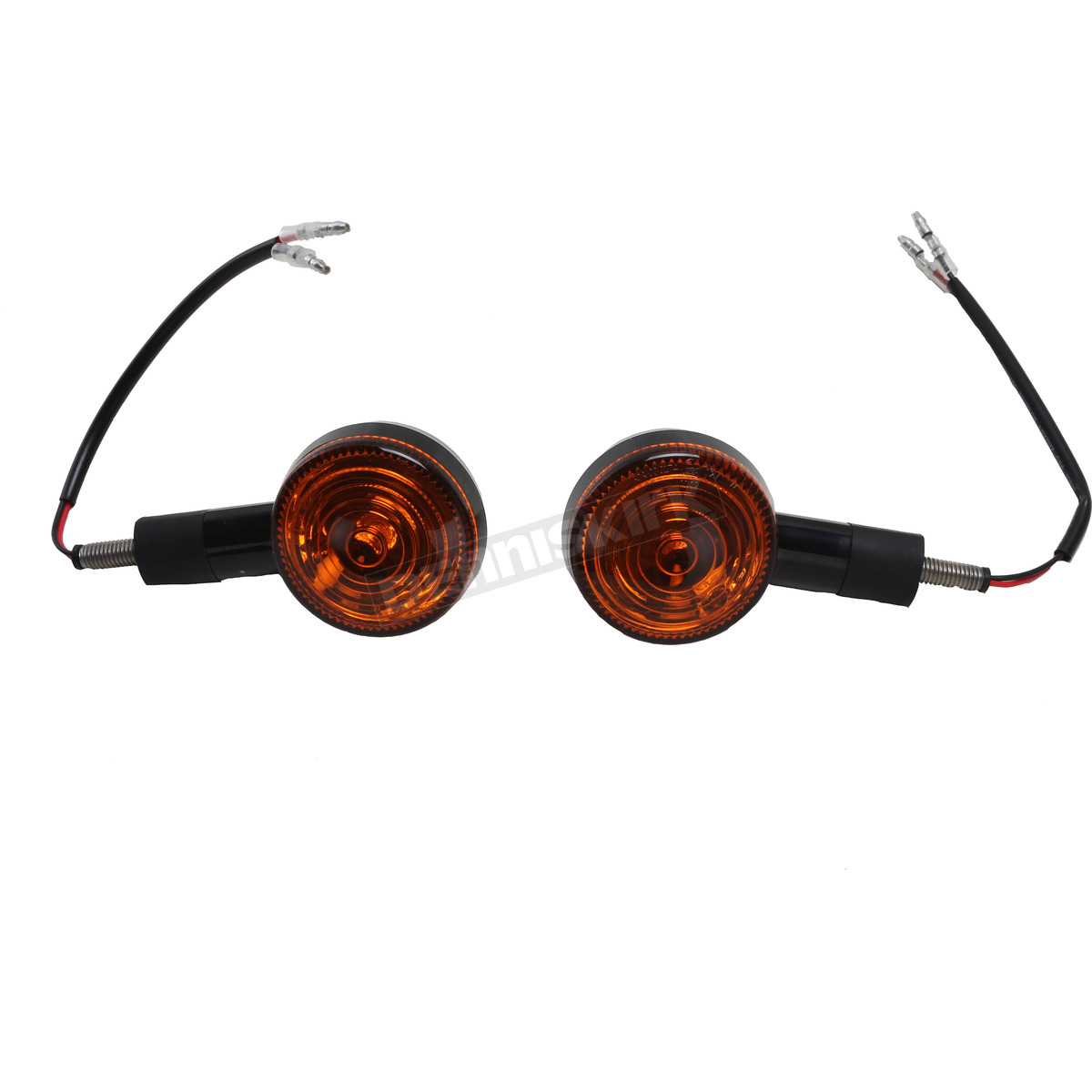 K S Black Dot Universal Single Circuit Led Turn Signal W Amber Blinker Lens 25 9563