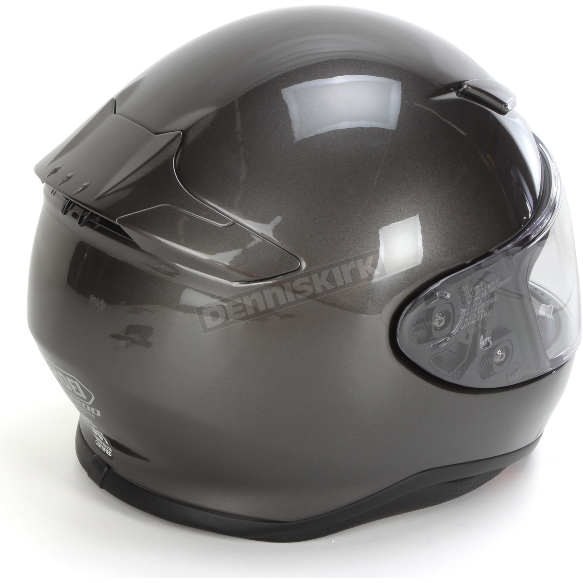 dc3948e7 Shoei Helmets Anthracite Metallic RF-1200 Helmet - 0109-0117-03 ...