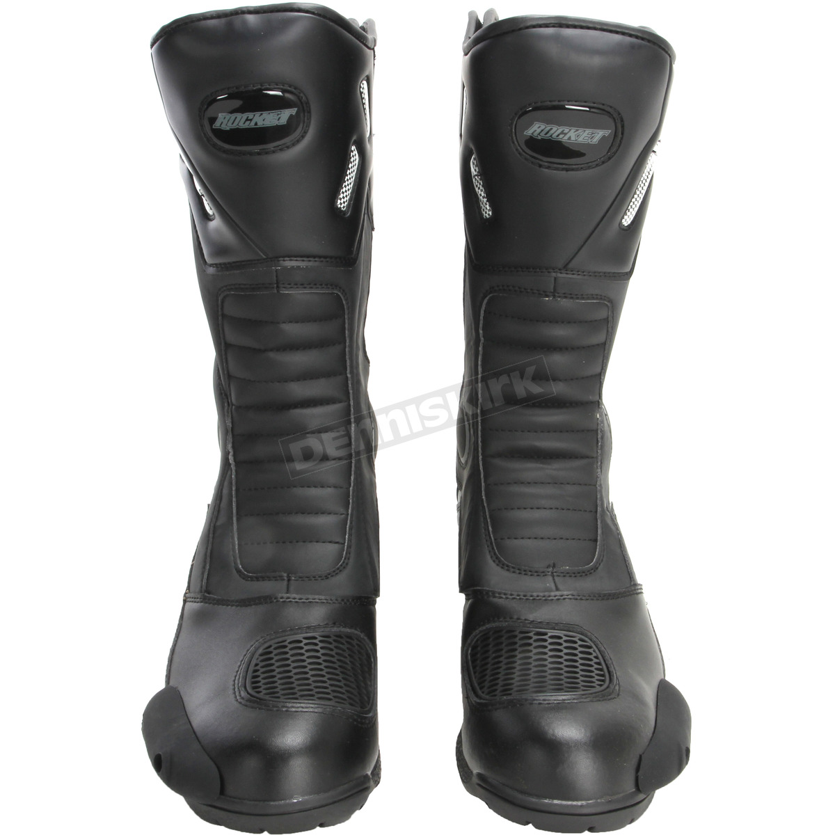 Black US-9.5 New Joe Rocket Super Street RX14 Adult Leather Boots