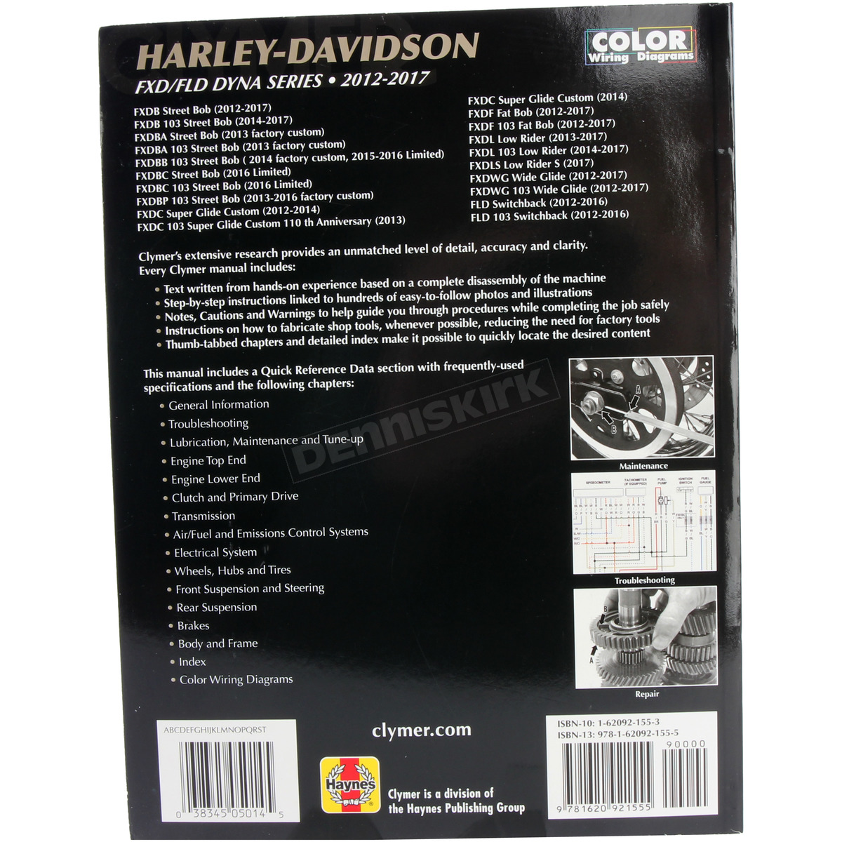 Clymer Repair Manuals 4201 0279 Harley Davidson Motorcycle 2015 Dyna Wiring Diagram Dennis Kirk
