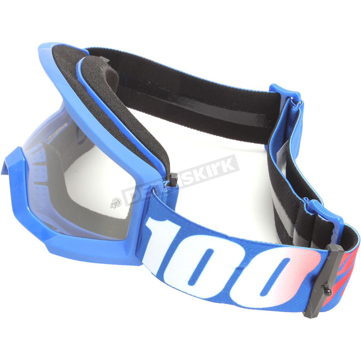 100/% 50500-236-02 Strata Youth Goggles Nation w//Clear Lens