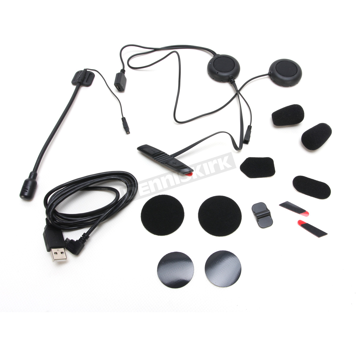 359ea903e7a 3S Bluetooth 3.0 Communicator System Modular Helmet Wired Boom Microphone  Kit - 3S-WB ...