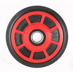 Red Idler Wheel w/Bearing - 04-0633-25