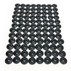 Air Lite Round Black Backer Plates for 5/16 in. Studs - 208RX-96