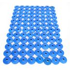 Air Lite Round Blue Backer Plates for 5/16 in. Studs - 209RB-96