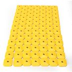 Super Lite +Plus Single Yellow Backing Plates - 2462-P8-YEL