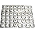 Aluminum Top Gun Backing Plates - 140-48