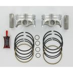 Forged Piston Kit - 3.498 in. Bore