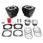 Black 92 in. Bolt-On Big Bore Kit - 201-219W