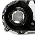 Contrast Cut Clarity Hydraulic Actuated Transmission Cover - 0177-2048-BM