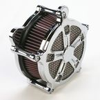 Chrome Venturi Turbo Air Cleaner - 0206-2034-CH