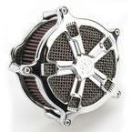 Chrome Venturi Turbo Air Cleaner - 0206-2035-CH