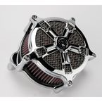 Chrome Venturi Turbo Air Cleaner - 0206-2036-CH
