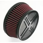 Black XXX Air Cleaner Assembly - BA-2322-00B