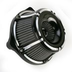 Black Slot Track Inverted Series Air Cleaner Kit - 18-923