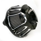 Black Deep Cut Inverted Series Air Cleaner Kit - 18-929
