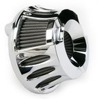Chrome Deep Cut Inverted Series Air Cleaner Kit - 18-930