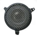 Black Plain Air Cleaner - 06-0114-03B