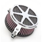 Chrome Spoke Air Cleaner - 06-0114-04