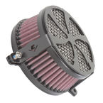 Black Swept Air Cleaner - 06-0119-01B