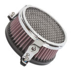 Chrome Plain Air Cleaner - 06-0119-03